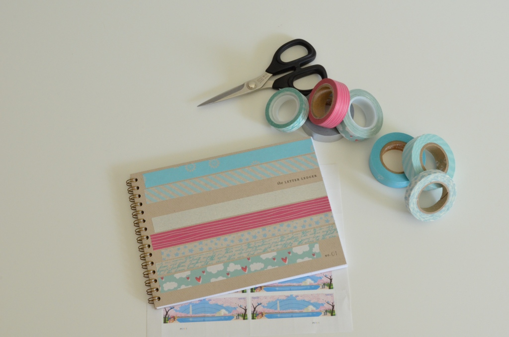 Washi Weekend: Letter Ledger