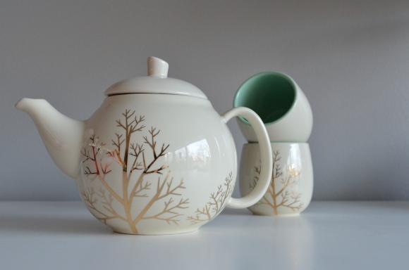 Davids Tea teapot