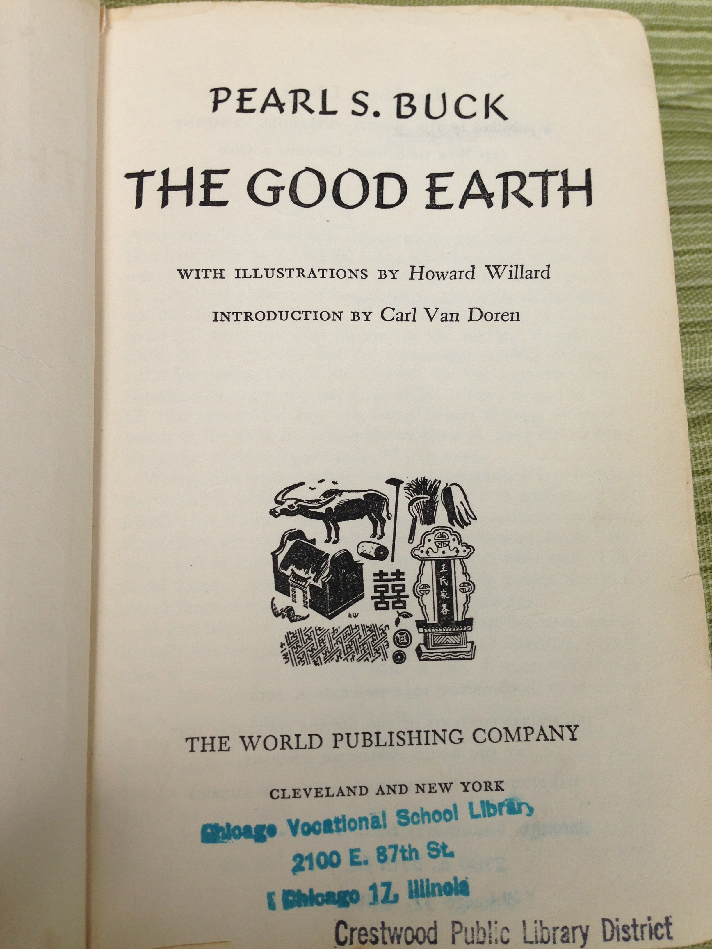 a literary analysis of the good earth by pearl s buck Man's relationship to the earth the overarching theme of the good earth is the nourishing power of the land throughout the novel, a connection to the land is associated with moral piety, good sense, respect for nature, and a strong work ethic, while alienation from the land is associated with decadence and corruption.