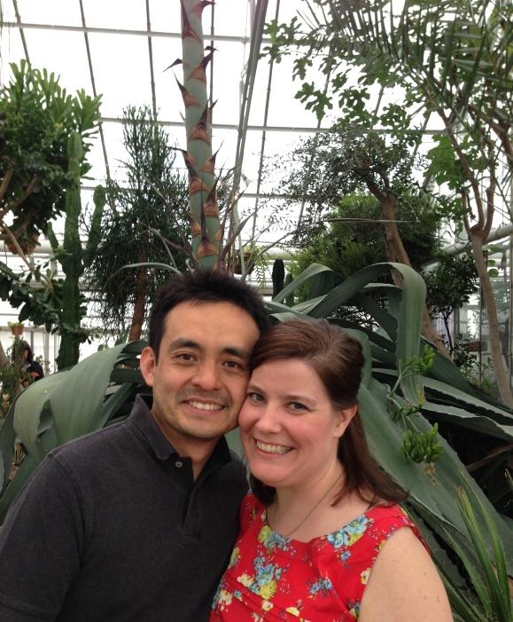 Oak Park Conservatory century plant