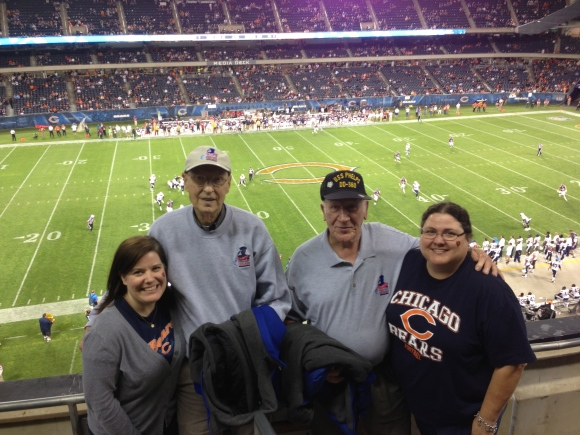 Honor Flight Chicago Bears Game