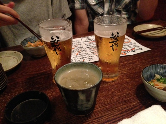 izakaya beer and cocktail