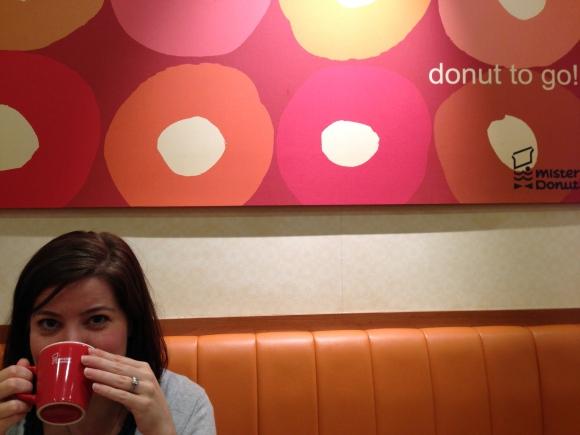 kimberly mister donut