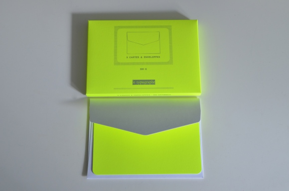 le typographe neon cards