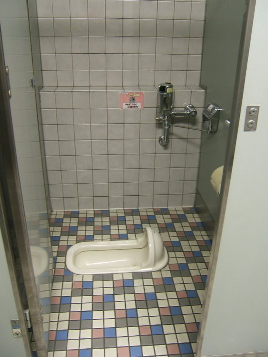 traditional Japanese toilet