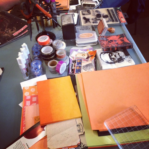 Halloween Mail Art Party at Greer