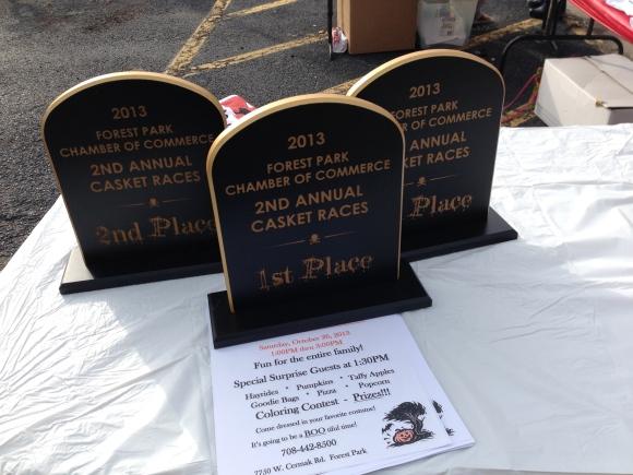 Casket Race Awards