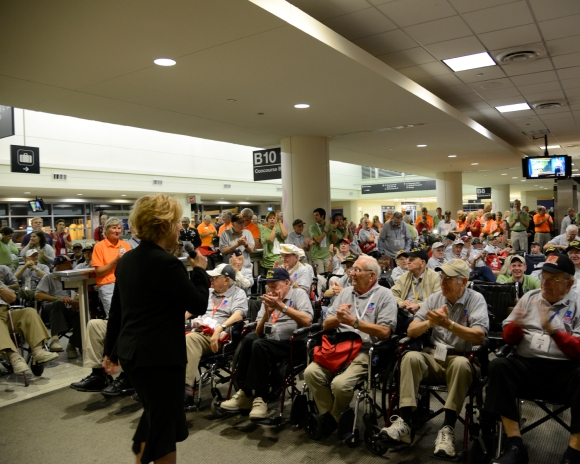 gate entertainment, Honor Flight Chicago