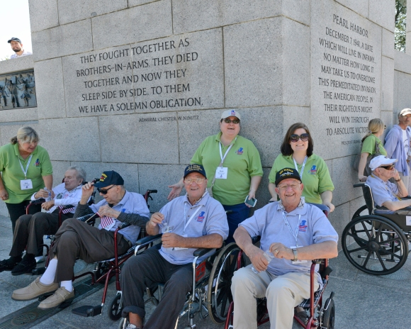 barb kim john & chester, Honor Flight Chicago