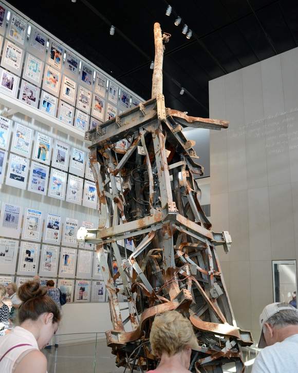 World Trade Center antenna Newseum