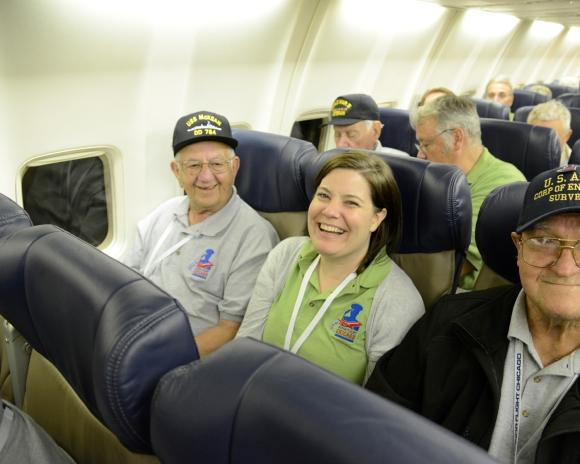 chester, kimberly and john Honor Flight Chicago