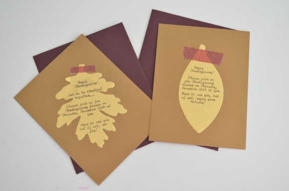 easy thanksgiving invitations