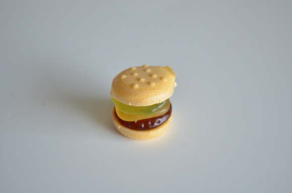 Japanese complete gummy hamburger