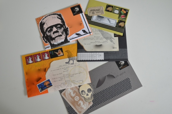 Halloween Mail Art