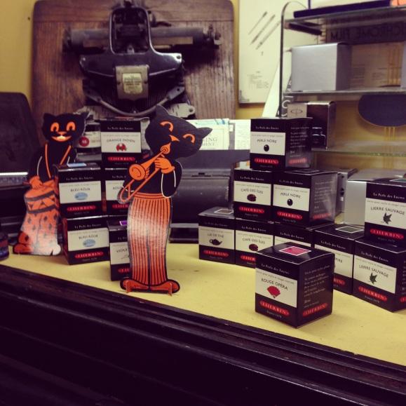 inks at Pieritz Bros