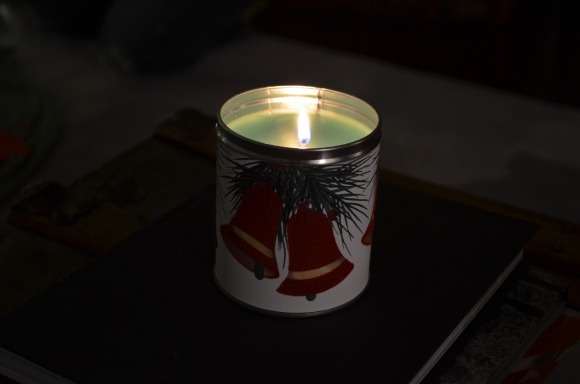 evergreen candle from Yearbook