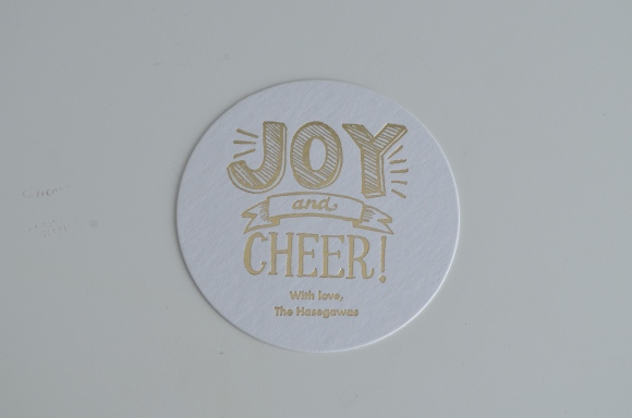 holiday coaster paper source