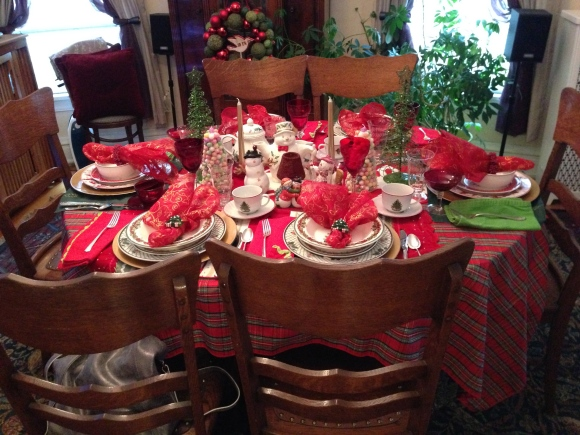 book group Christmas tea 2
