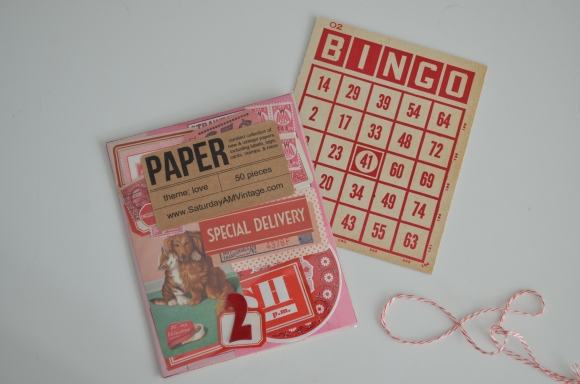 Saturday Morning Vintage January Paper Parcel