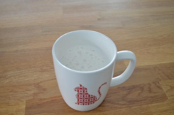 vanilla steamer target cat mug