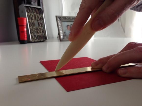 scoring cardstock