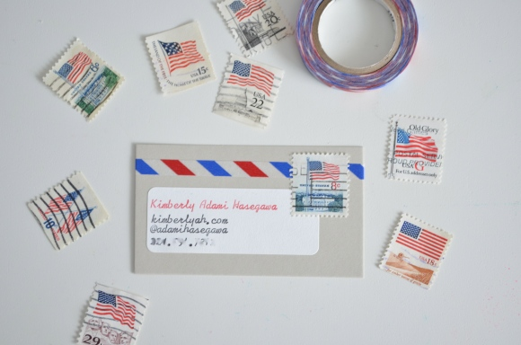Postal Themed Calling Cards