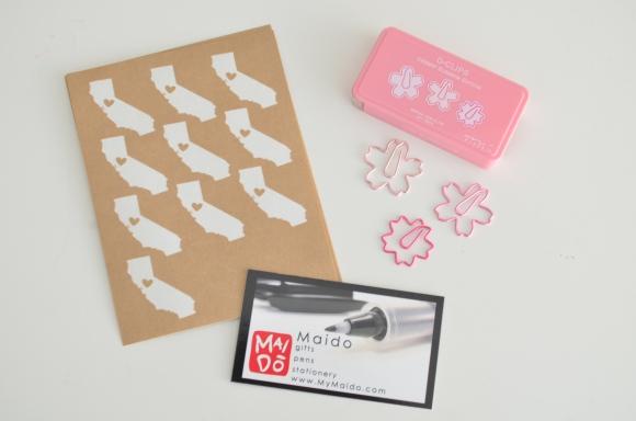 midori sakura paper clips