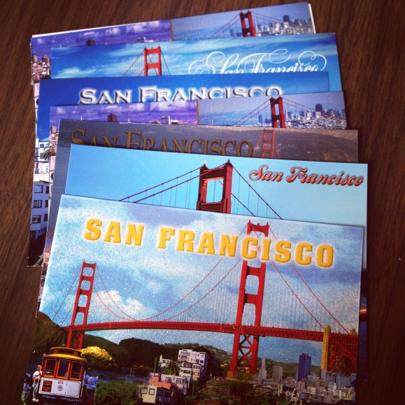 SanFrancisco postcards