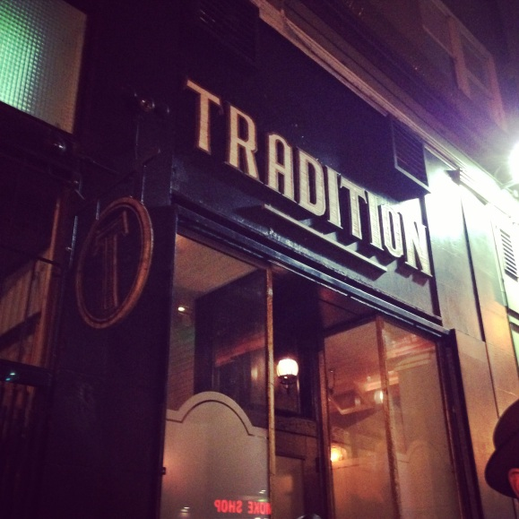 tradition bar