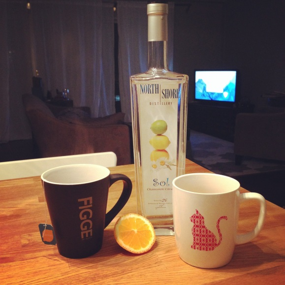 north shore citrus vodka