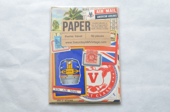 Saturday Morning Vintage Paper Parcel Subscription