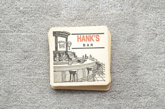 Hank's Bar Coasters