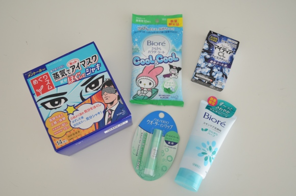 Japan Does It Better, Japanese toiletries that cool your skin