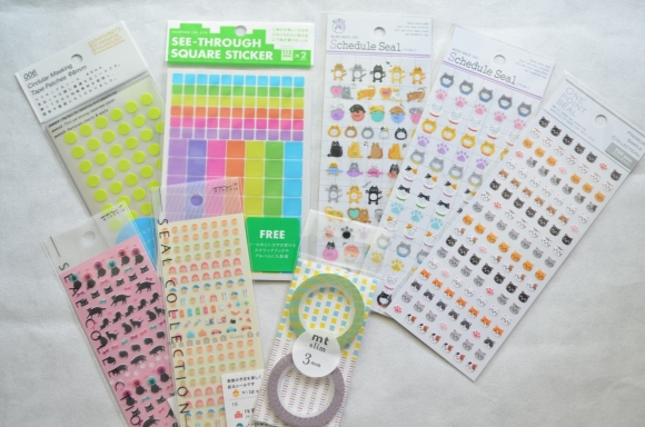 calendar stickers, Japan Does It Better