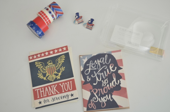 military cards, honor flight, mail