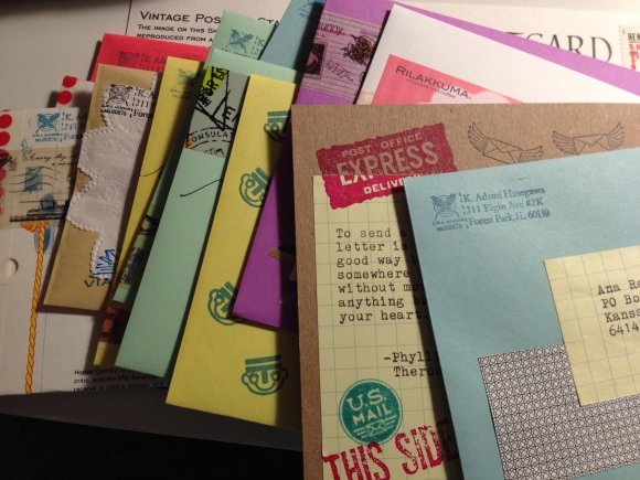 show and mail, letter writing, Letter Writers Alliance