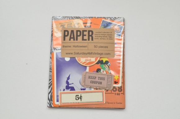 Saturday Morning Vintage October Paper Parcel