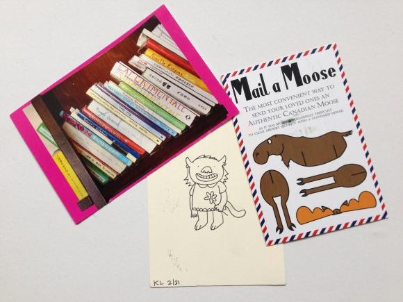Katie Licht, mail a moose