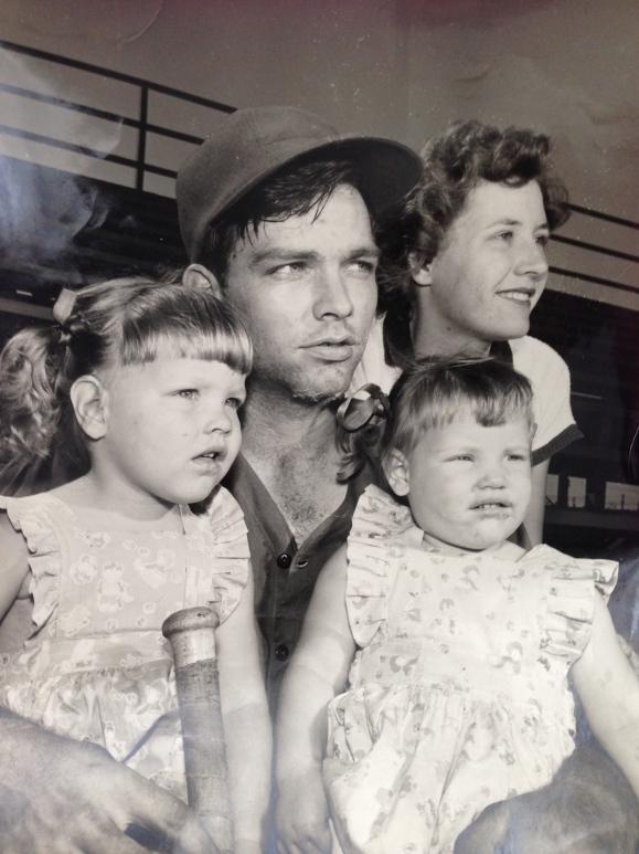 grandpa, grandma, mom & connie