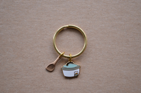 Mehoi rice cooker keychain