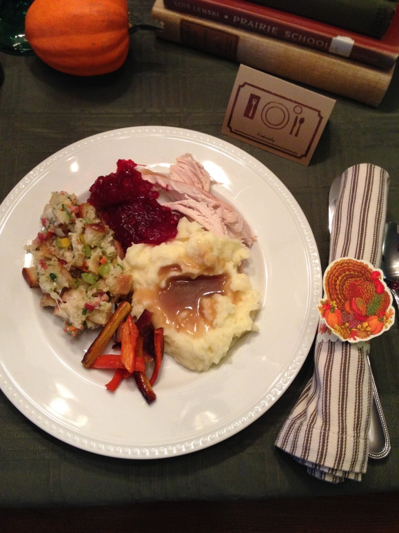 thanksgiving 2014, my meal