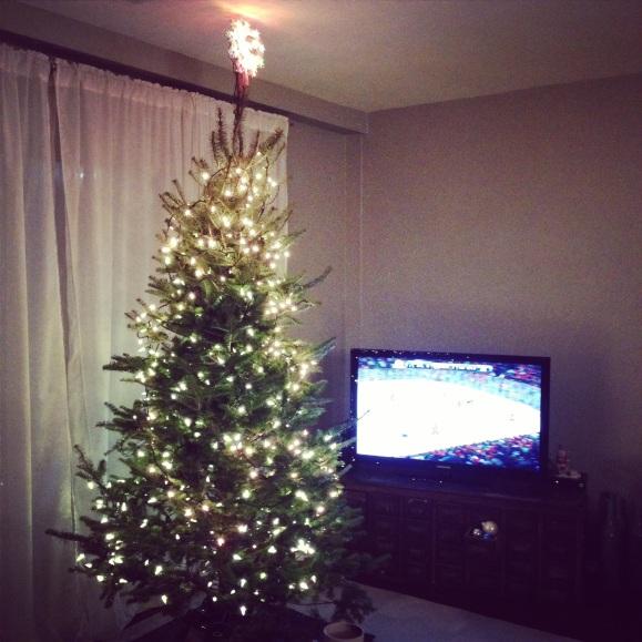lighted tree 2014