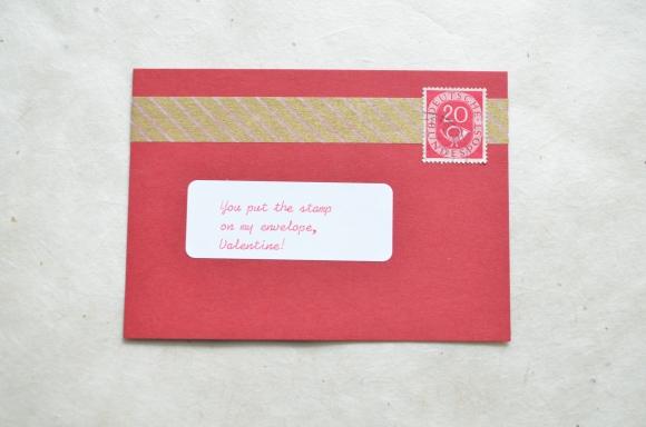 vintage stamp valentines