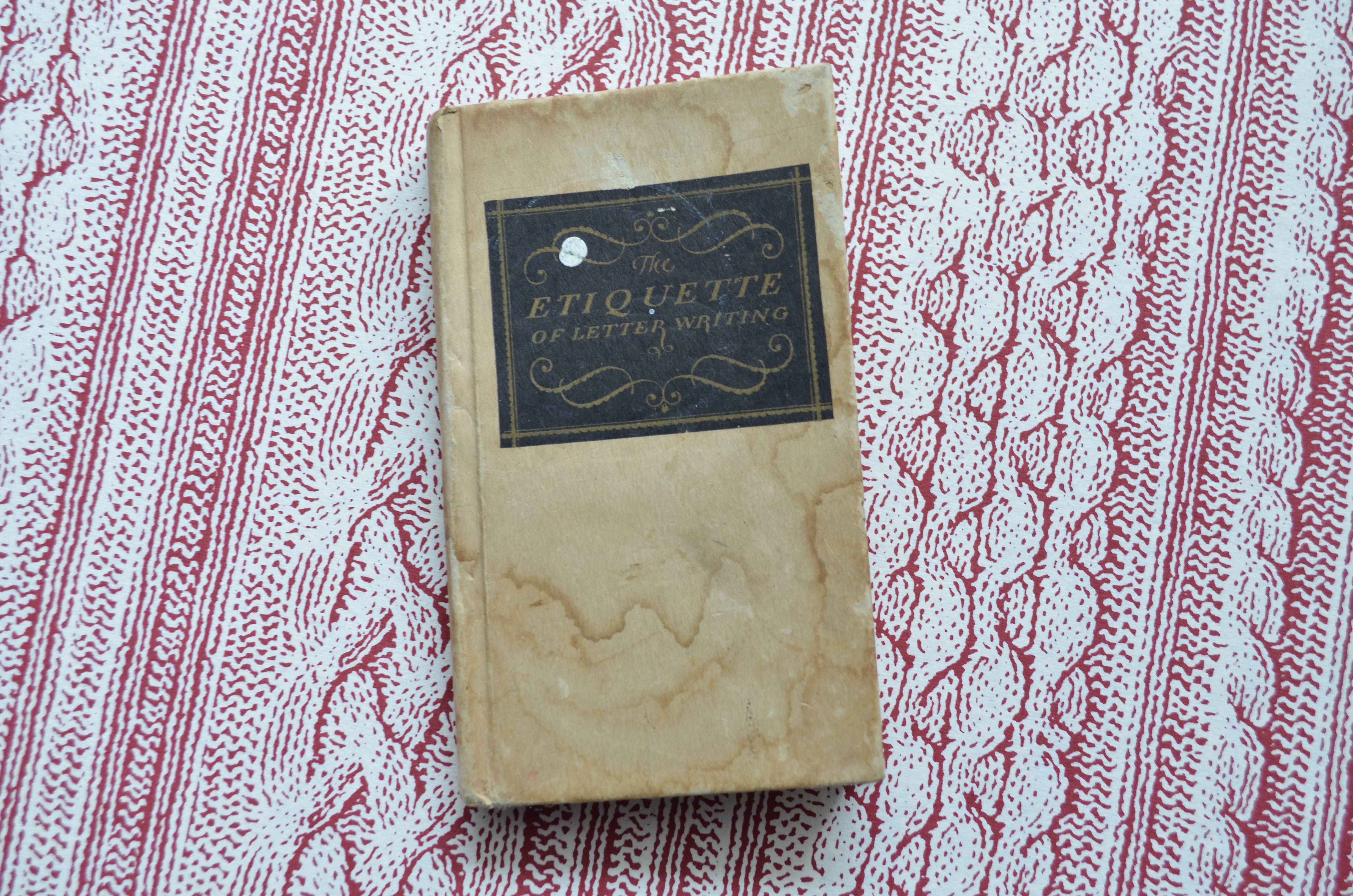 Wedding Etiquette Books: Mail Reads: The Etiquette Of Letter Writing