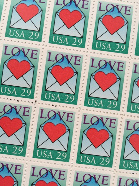 Love stamp 1992
