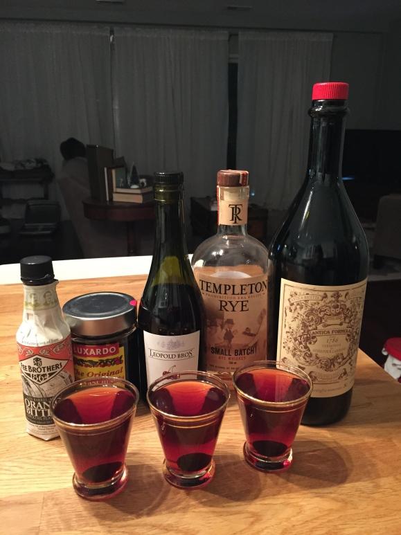 Sweet Manhattans, Hasegawa Happy Hour