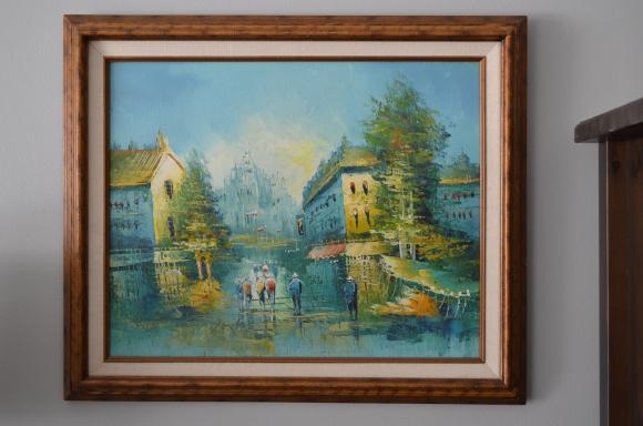 P. Rambert oil painting