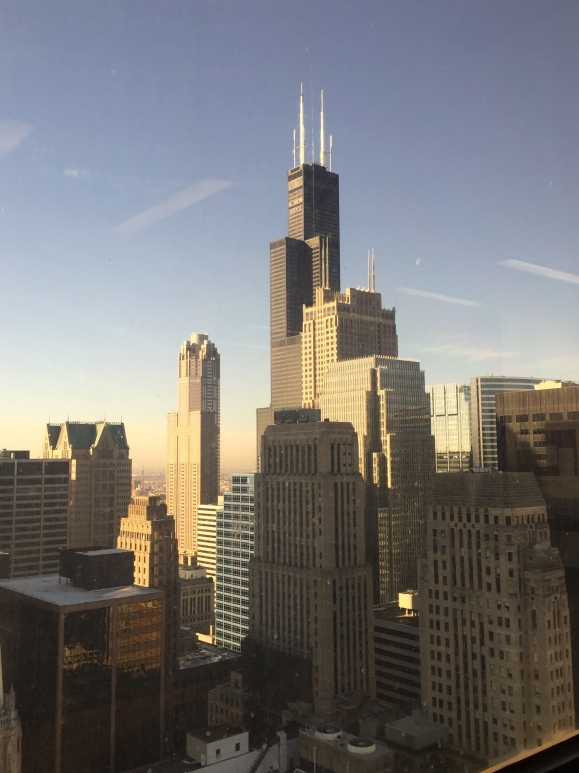 view from the Daley Center, 26th floor
