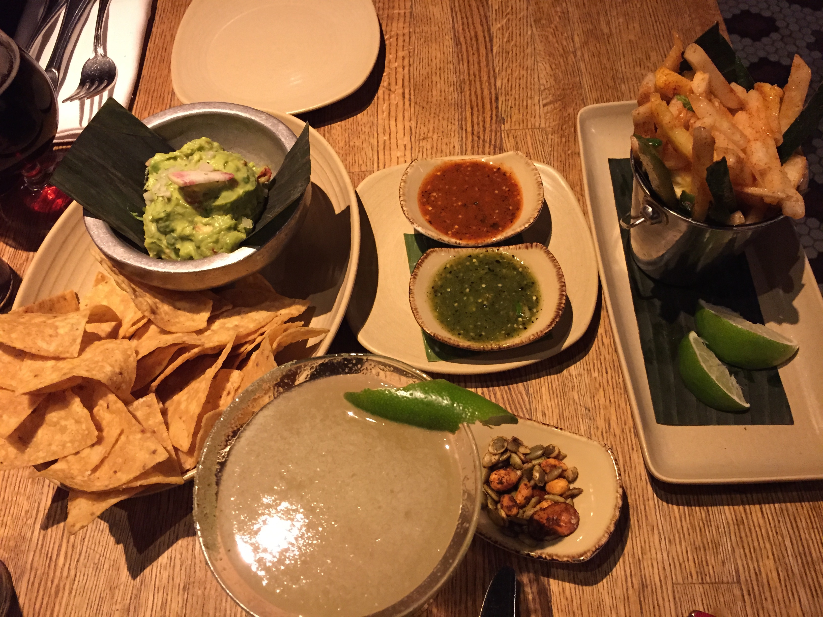 chips and guac, street food, frontera grill