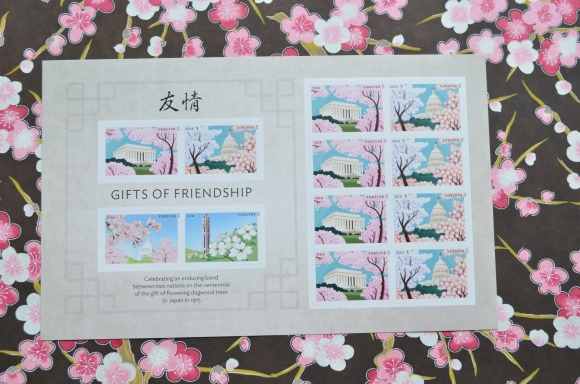 Gifts of Friendship Stamps, US, Japan